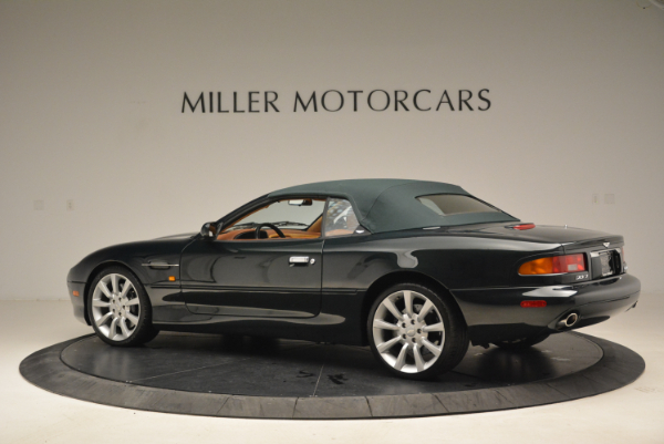 Used 2003 Aston Martin DB7 Vantage Volante for sale Sold at Pagani of Greenwich in Greenwich CT 06830 16