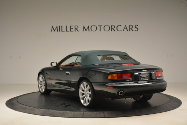 Used 2003 Aston Martin DB7 Vantage Volante for sale Sold at Pagani of Greenwich in Greenwich CT 06830 17