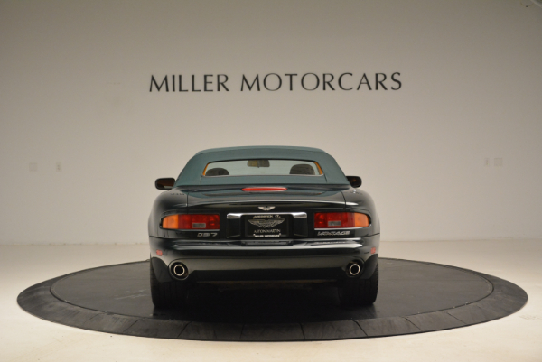 Used 2003 Aston Martin DB7 Vantage Volante for sale Sold at Pagani of Greenwich in Greenwich CT 06830 18