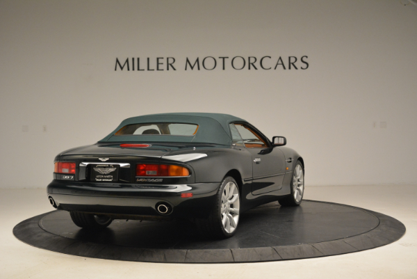 Used 2003 Aston Martin DB7 Vantage Volante for sale Sold at Pagani of Greenwich in Greenwich CT 06830 19