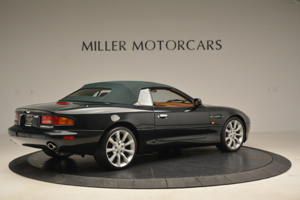 Used 2003 Aston Martin DB7 Vantage Volante for sale Sold at Pagani of Greenwich in Greenwich CT 06830 20