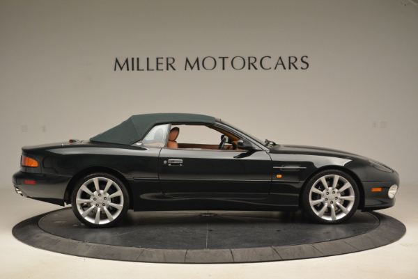 Used 2003 Aston Martin DB7 Vantage Volante for sale Sold at Pagani of Greenwich in Greenwich CT 06830 21