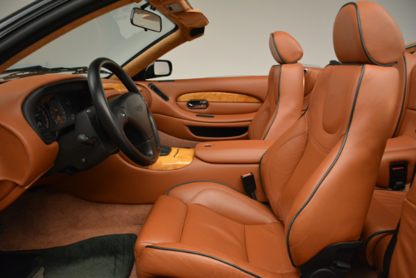 Used 2003 Aston Martin DB7 Vantage Volante for sale Sold at Pagani of Greenwich in Greenwich CT 06830 23