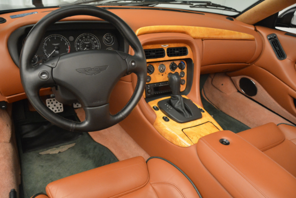 Used 2003 Aston Martin DB7 Vantage Volante for sale Sold at Pagani of Greenwich in Greenwich CT 06830 24