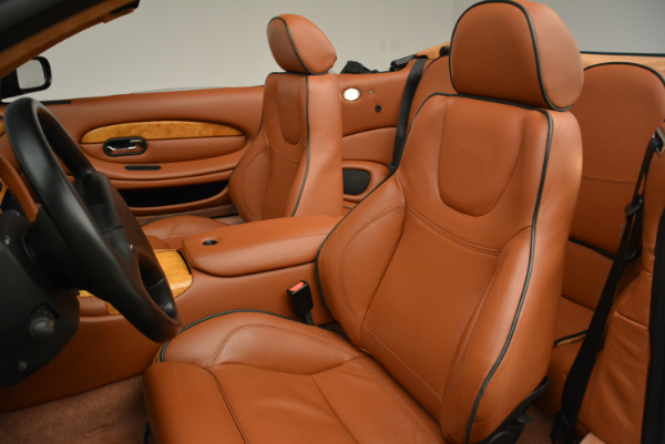 Used 2003 Aston Martin DB7 Vantage Volante for sale Sold at Pagani of Greenwich in Greenwich CT 06830 26