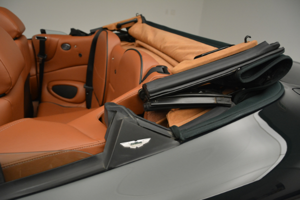 Used 2003 Aston Martin DB7 Vantage Volante for sale Sold at Pagani of Greenwich in Greenwich CT 06830 28