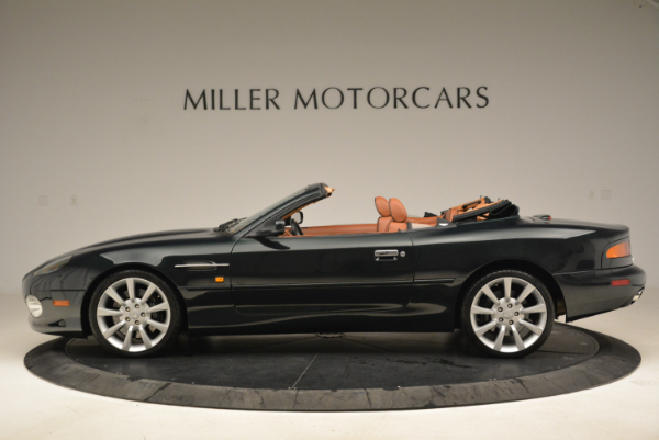 Used 2003 Aston Martin DB7 Vantage Volante for sale Sold at Pagani of Greenwich in Greenwich CT 06830 3