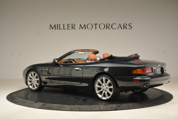 Used 2003 Aston Martin DB7 Vantage Volante for sale Sold at Pagani of Greenwich in Greenwich CT 06830 4