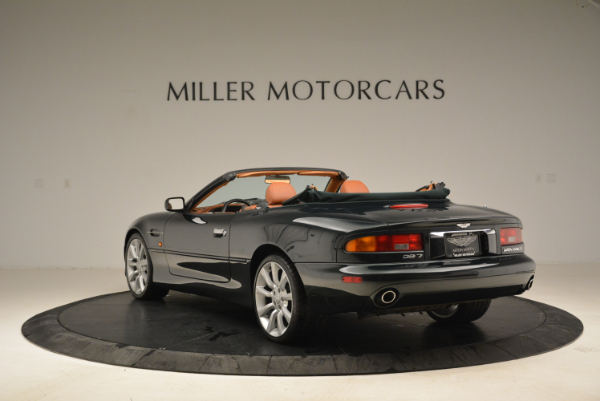 Used 2003 Aston Martin DB7 Vantage Volante for sale Sold at Pagani of Greenwich in Greenwich CT 06830 5