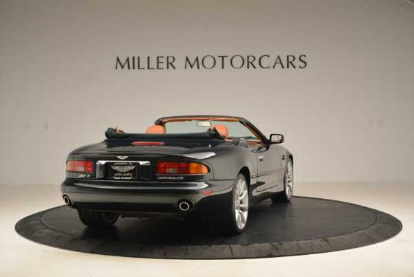 Used 2003 Aston Martin DB7 Vantage Volante for sale Sold at Pagani of Greenwich in Greenwich CT 06830 7