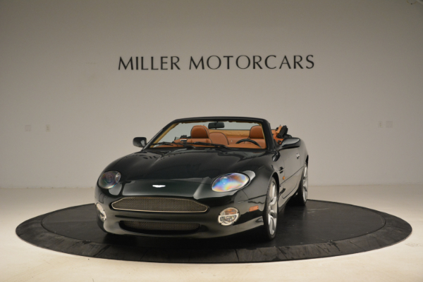 Used 2003 Aston Martin DB7 Vantage Volante for sale Sold at Pagani of Greenwich in Greenwich CT 06830 1