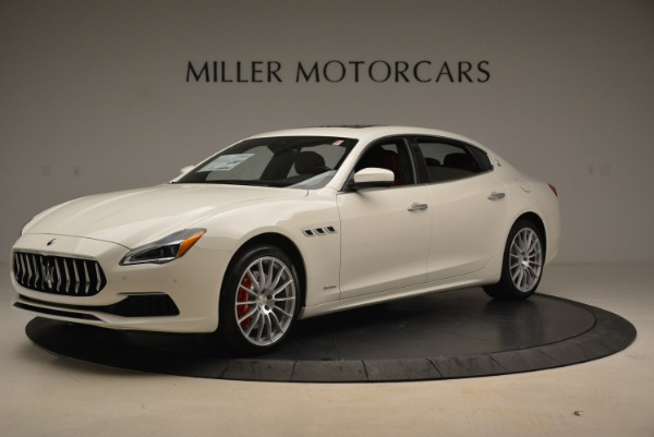 New 2018 Maserati Quattroporte S Q4 GranLusso for sale Sold at Pagani of Greenwich in Greenwich CT 06830 2