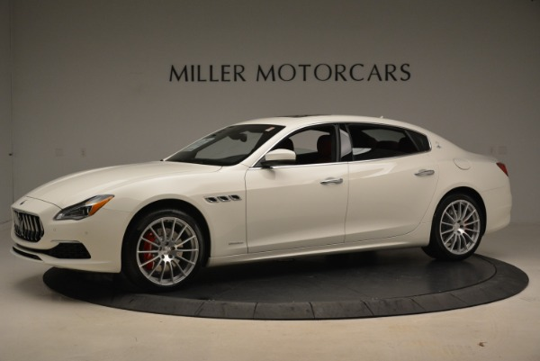 New 2018 Maserati Quattroporte S Q4 GranLusso for sale Sold at Pagani of Greenwich in Greenwich CT 06830 3