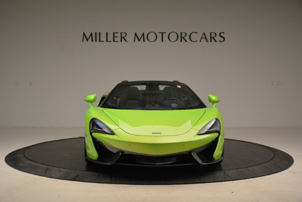 New 2018 McLaren 570S Spider for sale Sold at Pagani of Greenwich in Greenwich CT 06830 12
