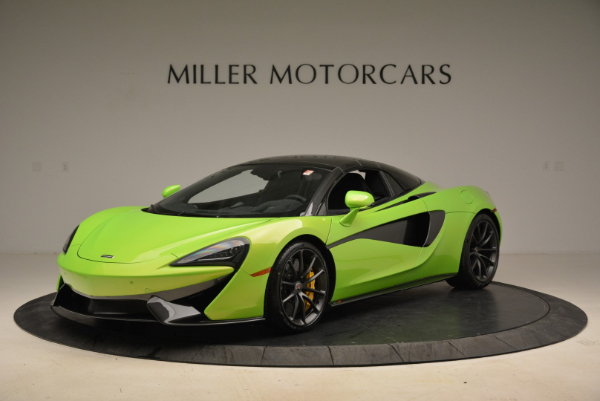 New 2018 McLaren 570S Spider for sale Sold at Pagani of Greenwich in Greenwich CT 06830 15