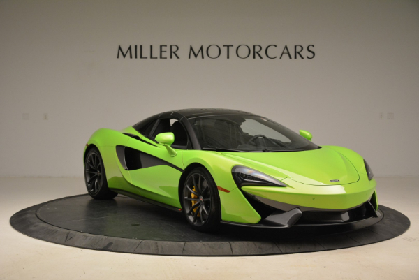New 2018 McLaren 570S Spider for sale Sold at Pagani of Greenwich in Greenwich CT 06830 21