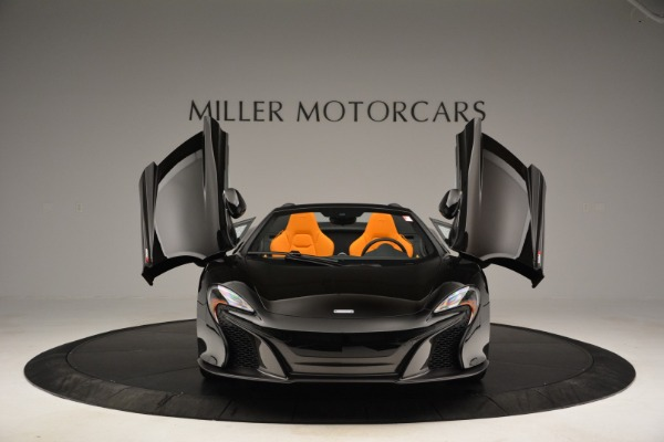 Used 2015 McLaren 650S Spider for sale Sold at Pagani of Greenwich in Greenwich CT 06830 13