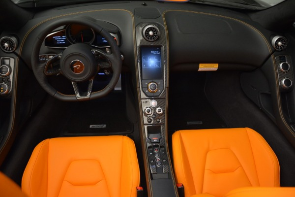 Used 2015 McLaren 650S Spider for sale Sold at Pagani of Greenwich in Greenwich CT 06830 22