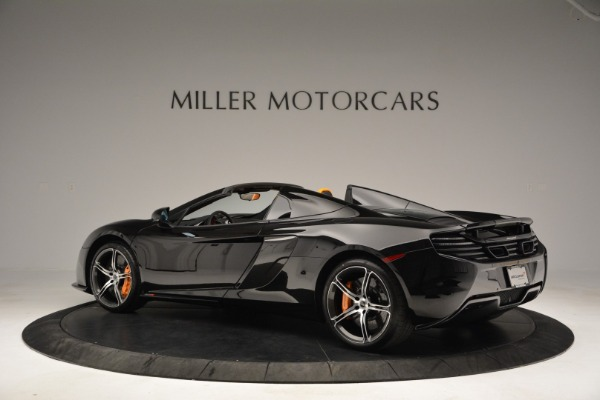 Used 2015 McLaren 650S Spider for sale Sold at Pagani of Greenwich in Greenwich CT 06830 4