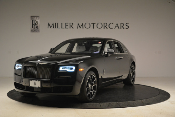 Used 2017 Rolls-Royce Ghost Black Badge for sale Sold at Pagani of Greenwich in Greenwich CT 06830 1