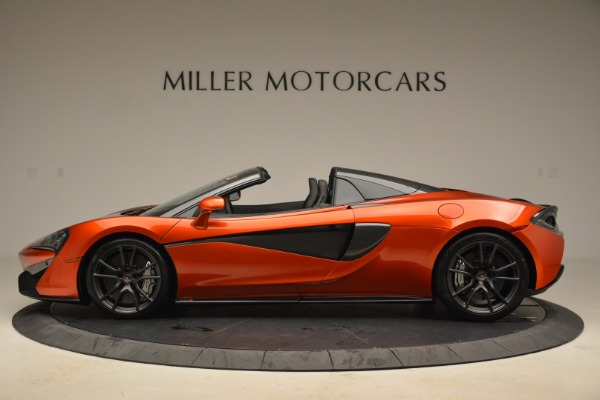 New 2018 McLaren 570S Spider for sale Sold at Pagani of Greenwich in Greenwich CT 06830 3