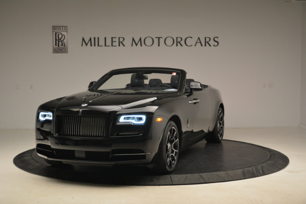 New 2018 Rolls-Royce Dawn Black Badge for sale Sold at Pagani of Greenwich in Greenwich CT 06830 1