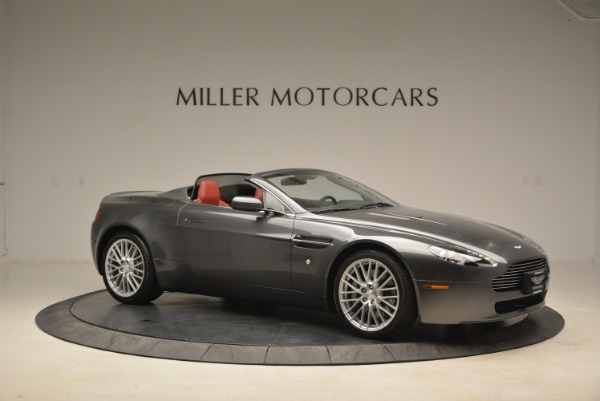 Used 2009 Aston Martin V8 Vantage Roadster for sale Sold at Pagani of Greenwich in Greenwich CT 06830 10