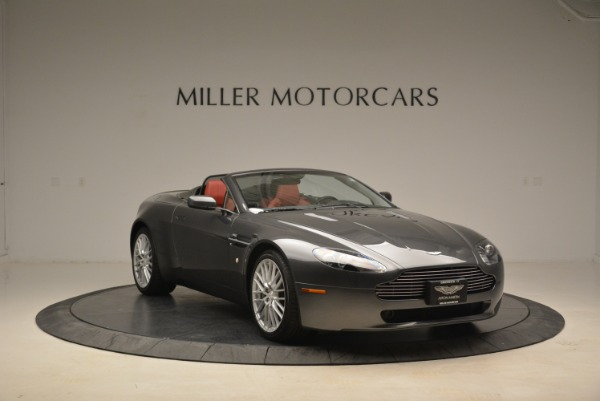 Used 2009 Aston Martin V8 Vantage Roadster for sale Sold at Pagani of Greenwich in Greenwich CT 06830 11