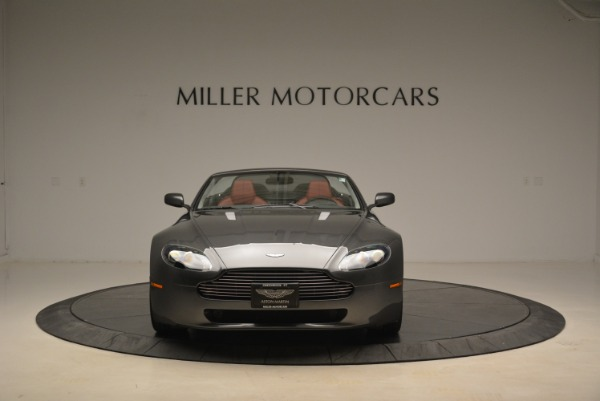 Used 2009 Aston Martin V8 Vantage Roadster for sale Sold at Pagani of Greenwich in Greenwich CT 06830 12