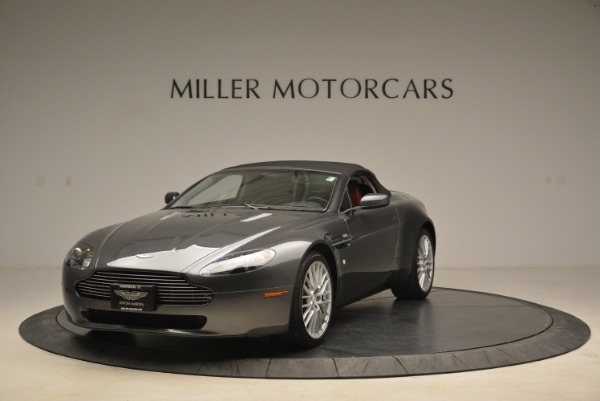 Used 2009 Aston Martin V8 Vantage Roadster for sale Sold at Pagani of Greenwich in Greenwich CT 06830 13