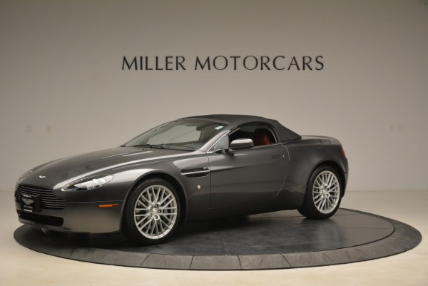 Used 2009 Aston Martin V8 Vantage Roadster for sale Sold at Pagani of Greenwich in Greenwich CT 06830 14