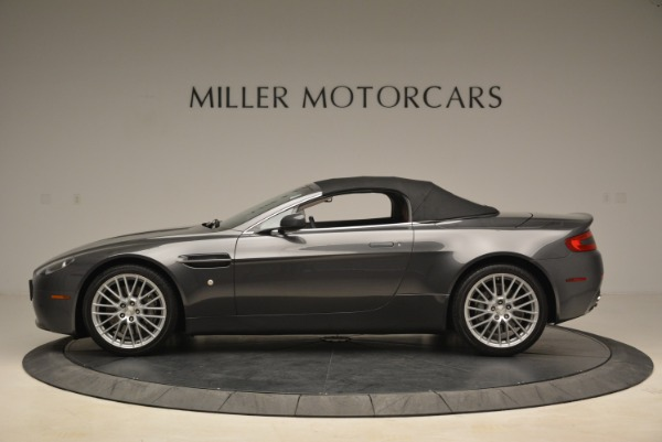 Used 2009 Aston Martin V8 Vantage Roadster for sale Sold at Pagani of Greenwich in Greenwich CT 06830 15