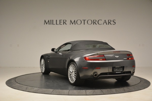 Used 2009 Aston Martin V8 Vantage Roadster for sale Sold at Pagani of Greenwich in Greenwich CT 06830 17