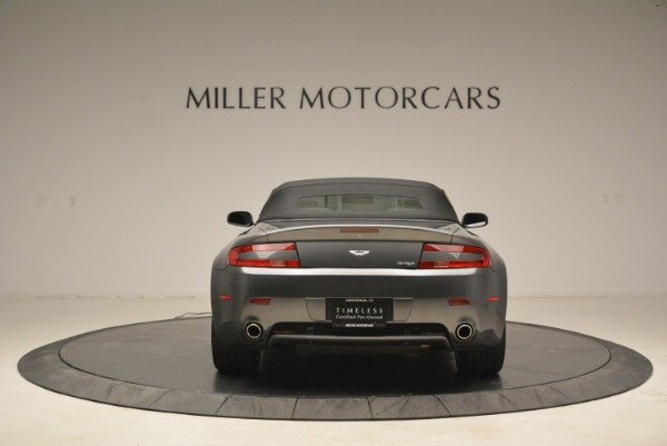 Used 2009 Aston Martin V8 Vantage Roadster for sale Sold at Pagani of Greenwich in Greenwich CT 06830 18