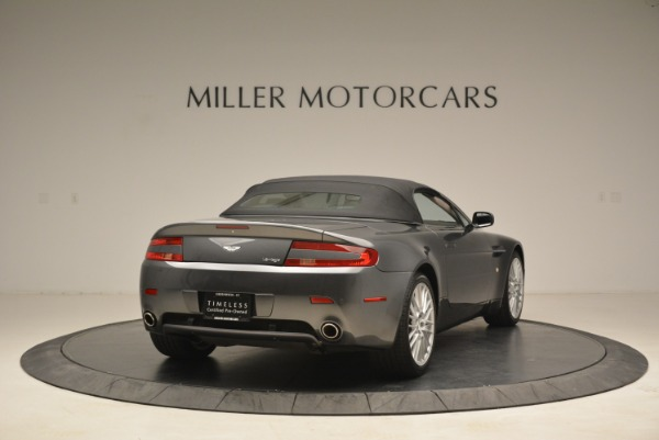 Used 2009 Aston Martin V8 Vantage Roadster for sale Sold at Pagani of Greenwich in Greenwich CT 06830 19