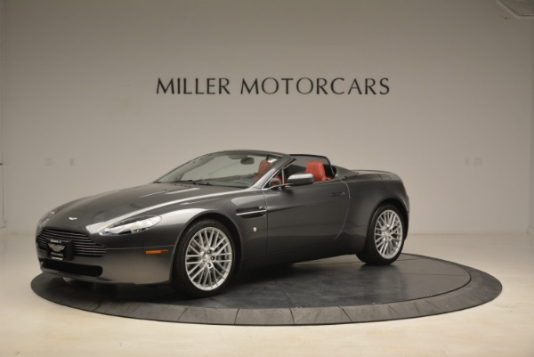Used 2009 Aston Martin V8 Vantage Roadster for sale Sold at Pagani of Greenwich in Greenwich CT 06830 2