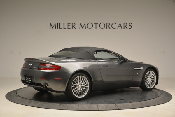 Used 2009 Aston Martin V8 Vantage Roadster for sale Sold at Pagani of Greenwich in Greenwich CT 06830 20