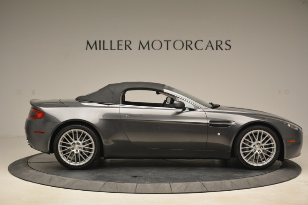 Used 2009 Aston Martin V8 Vantage Roadster for sale Sold at Pagani of Greenwich in Greenwich CT 06830 21