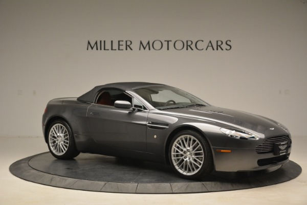 Used 2009 Aston Martin V8 Vantage Roadster for sale Sold at Pagani of Greenwich in Greenwich CT 06830 22