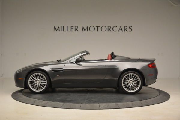 Used 2009 Aston Martin V8 Vantage Roadster for sale Sold at Pagani of Greenwich in Greenwich CT 06830 3