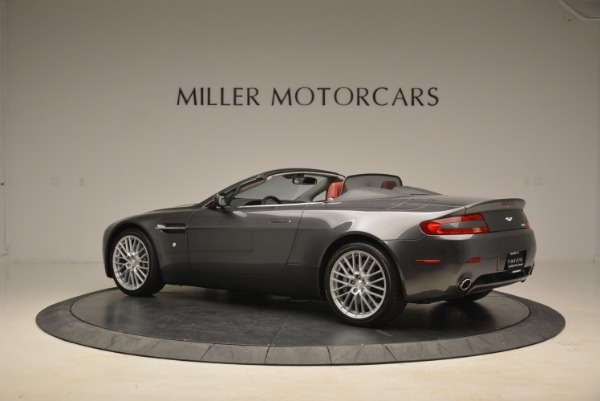 Used 2009 Aston Martin V8 Vantage Roadster for sale Sold at Pagani of Greenwich in Greenwich CT 06830 4