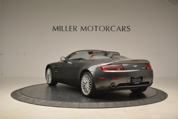 Used 2009 Aston Martin V8 Vantage Roadster for sale Sold at Pagani of Greenwich in Greenwich CT 06830 5