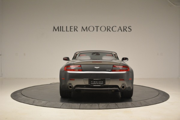 Used 2009 Aston Martin V8 Vantage Roadster for sale Sold at Pagani of Greenwich in Greenwich CT 06830 6