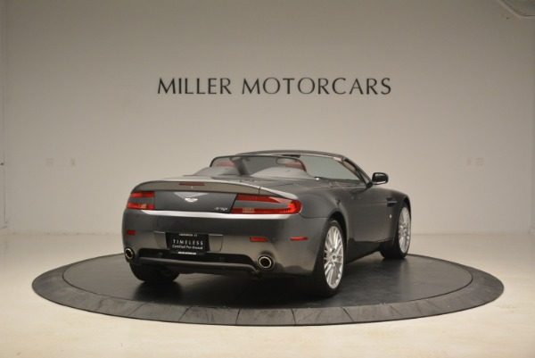 Used 2009 Aston Martin V8 Vantage Roadster for sale Sold at Pagani of Greenwich in Greenwich CT 06830 7