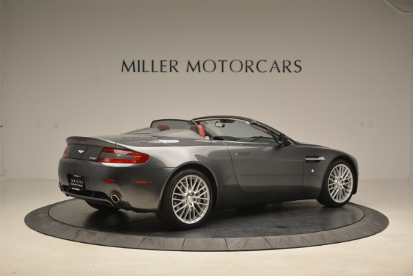 Used 2009 Aston Martin V8 Vantage Roadster for sale Sold at Pagani of Greenwich in Greenwich CT 06830 8