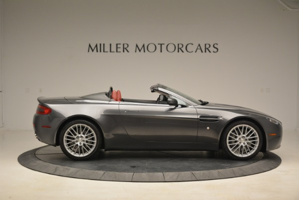 Used 2009 Aston Martin V8 Vantage Roadster for sale Sold at Pagani of Greenwich in Greenwich CT 06830 9