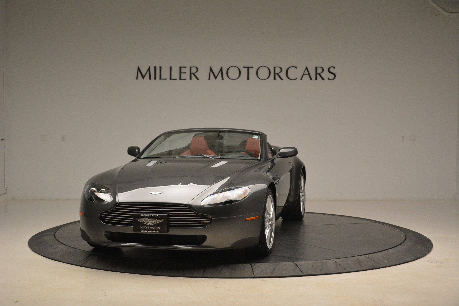 Used 2009 Aston Martin V8 Vantage Roadster for sale Sold at Pagani of Greenwich in Greenwich CT 06830 1