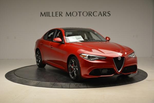 New 2018 Alfa Romeo Giulia Ti Sport Q4 for sale Sold at Pagani of Greenwich in Greenwich CT 06830 11
