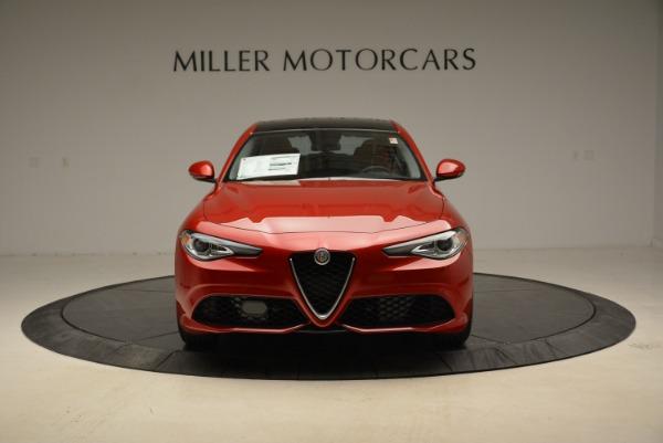 New 2018 Alfa Romeo Giulia Ti Sport Q4 for sale Sold at Pagani of Greenwich in Greenwich CT 06830 12