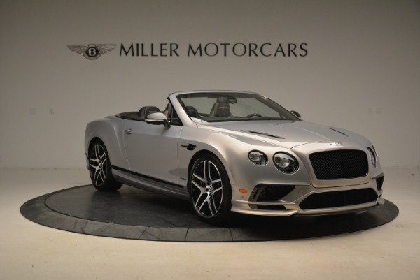 Used 2018 Bentley Continental GT Supersports Convertible for sale Sold at Pagani of Greenwich in Greenwich CT 06830 11